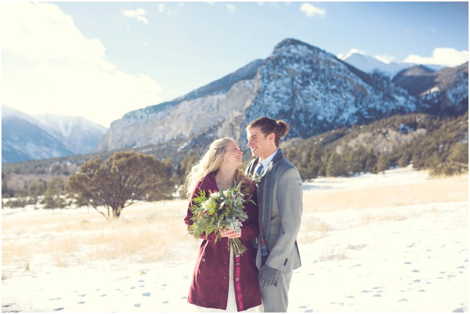 Mt. Princeton Hot Springs Wedding | Michelle and Dan's Winter Colorado Wedding_0048