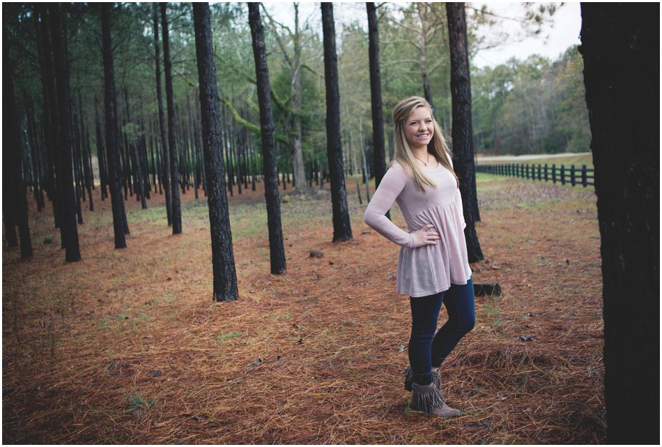 Senior Portrait Photographer | Jordan Henderson's Centreville Alabama Senior Shoot_0001