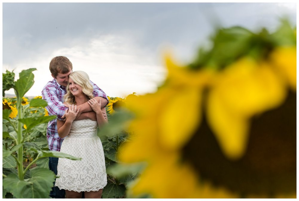 Sunflower Field Engagement Shoot | Bryce and Tessi's Engagement_0001.jpg