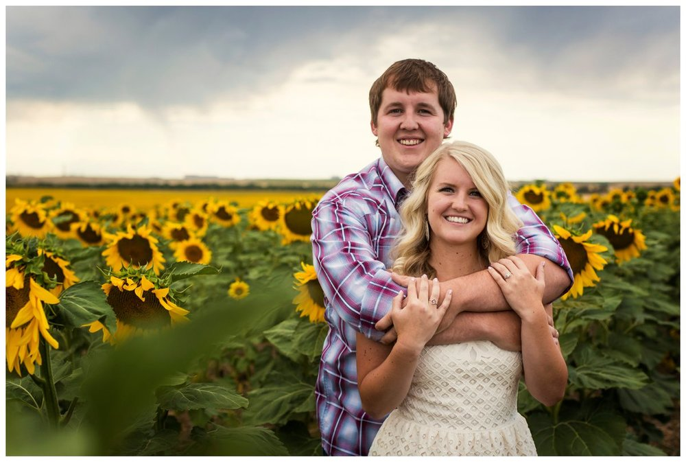 Sunflower Field Engagement Shoot | Bryce and Tessi's Engagement_0002.jpg