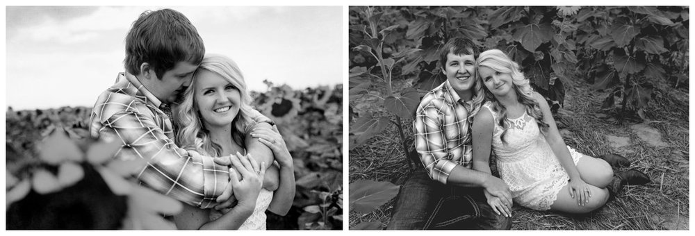 Sunflower Field Engagement Shoot | Bryce and Tessi's Engagement_0003.jpg