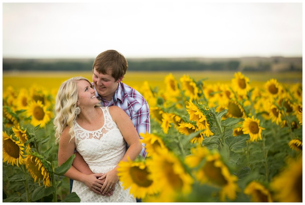 Sunflower Field Engagement Shoot | Bryce and Tessi's Engagement_0006.jpg