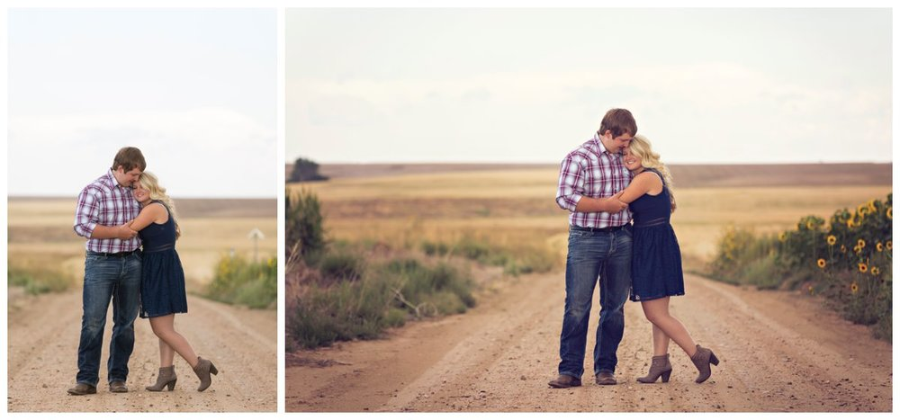 Sunflower Field Engagement Shoot | Bryce and Tessi's Engagement_0008.jpg
