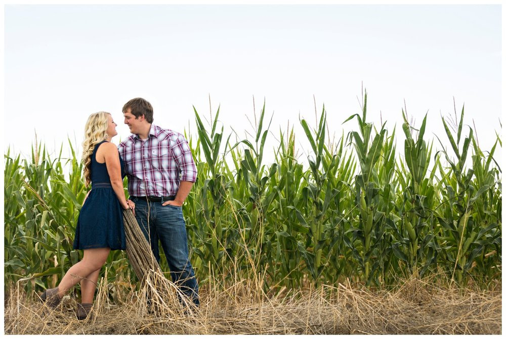 Sunflower Field Engagement Shoot | Bryce and Tessi's Engagement_0007.jpg