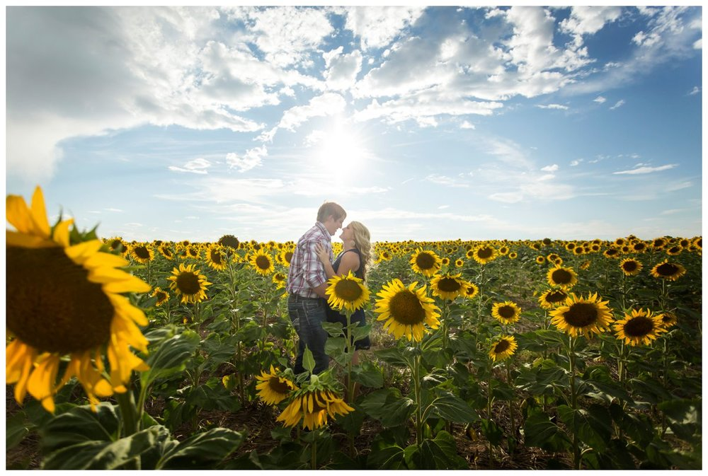 Sunflower Field Engagement Shoot | Bryce and Tessi's Engagement_0013.jpg