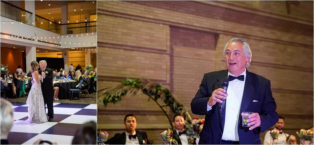 Lindsey and Stephens Denver Museum Wedding | Colorado Wedding Photographer_0064.jpg