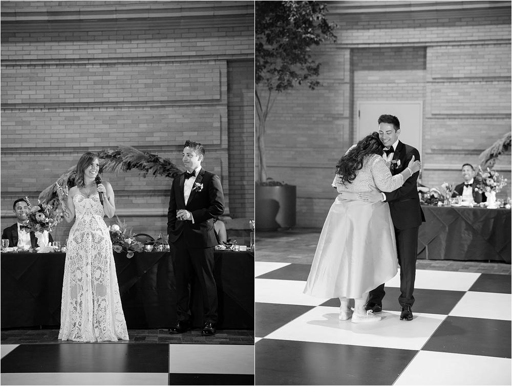 Lindsey and Stephens Denver Museum Wedding | Colorado Wedding Photographer_0065.jpg