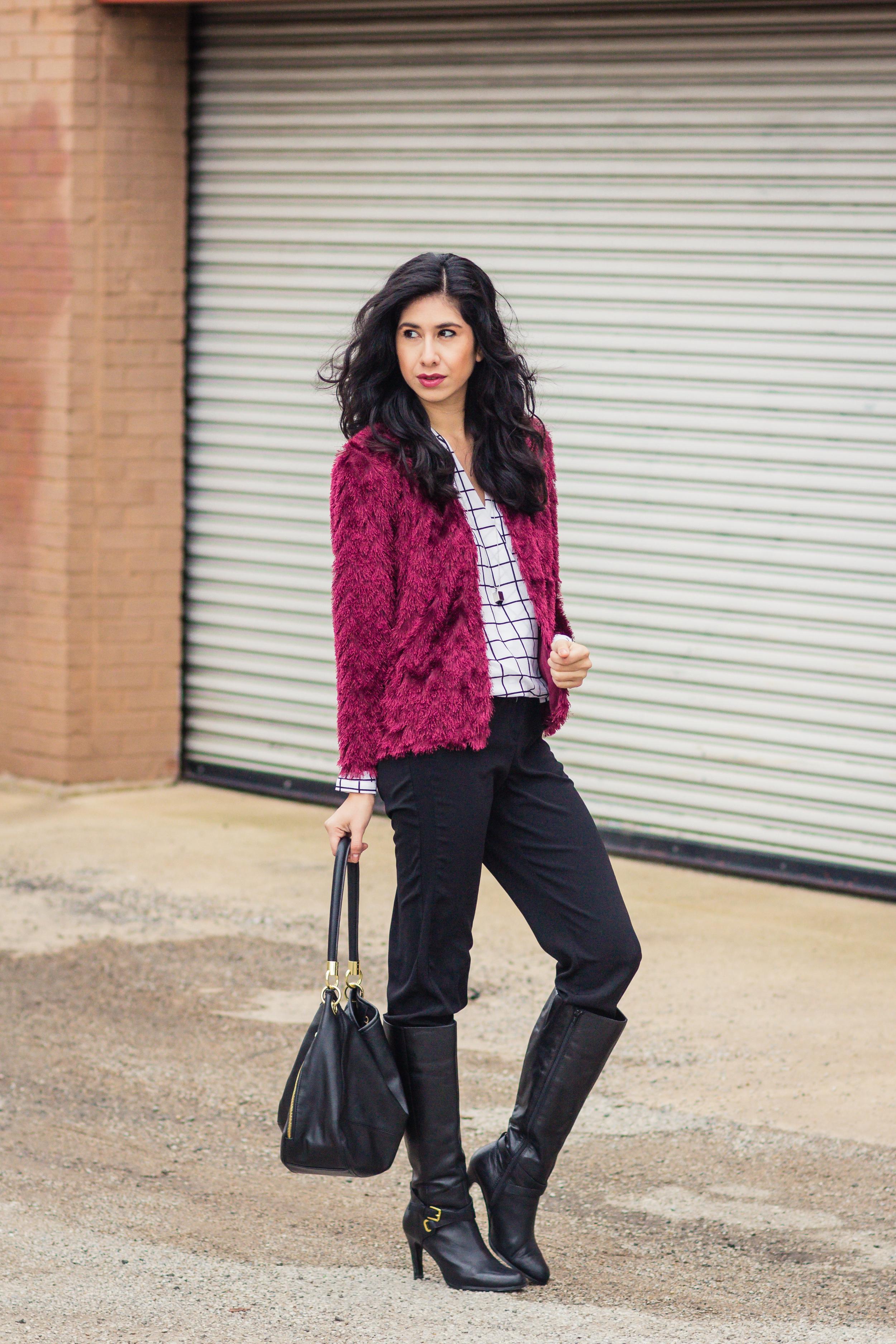 Vanessa red fur blazer-5554.jpg