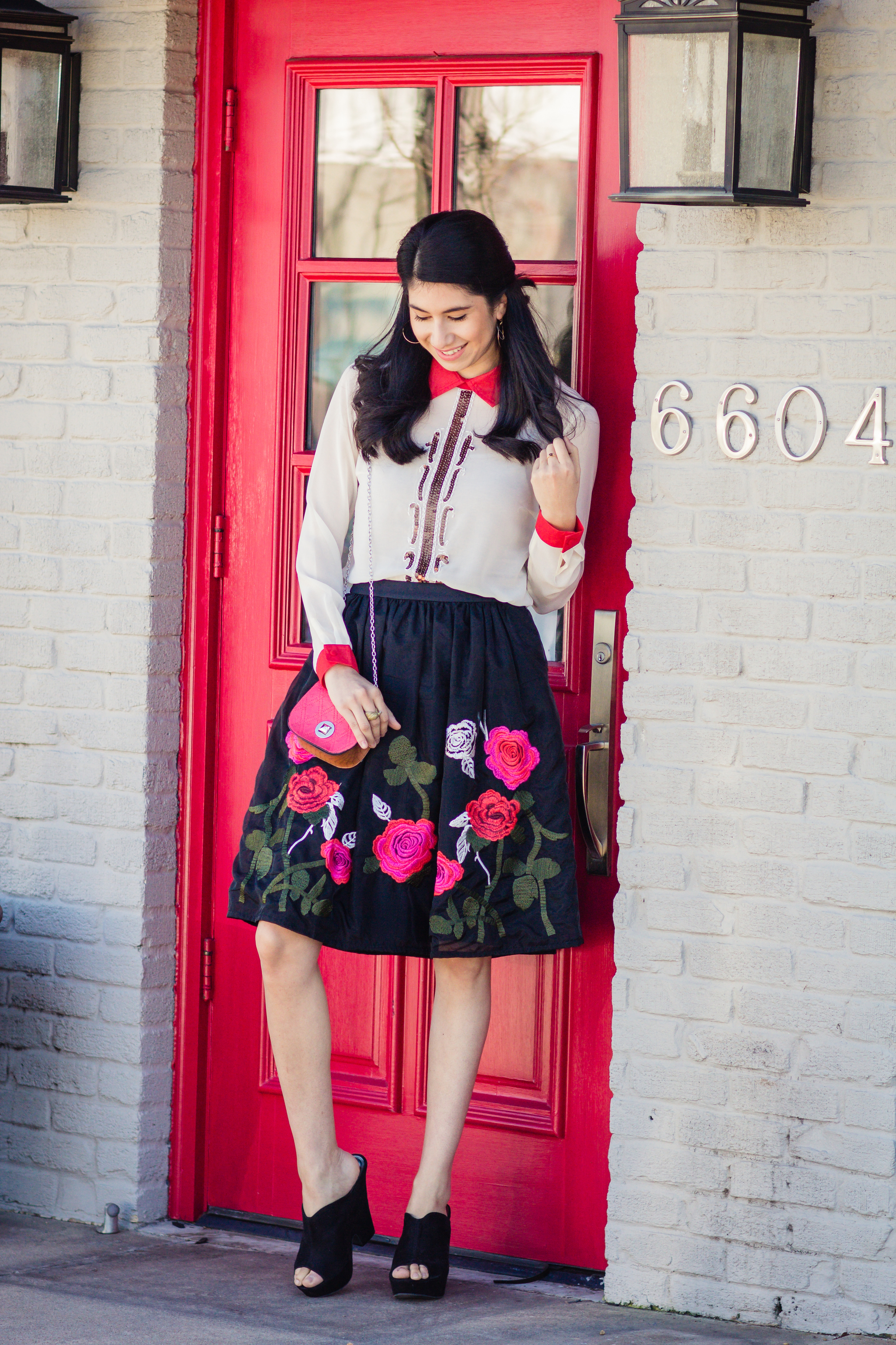 Vanessa rose skirt-6