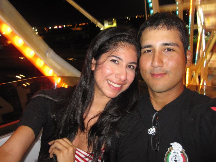 "The first time I felt like a real couple, even though we weren't ""official"" yet. How young do we look though! O_O"