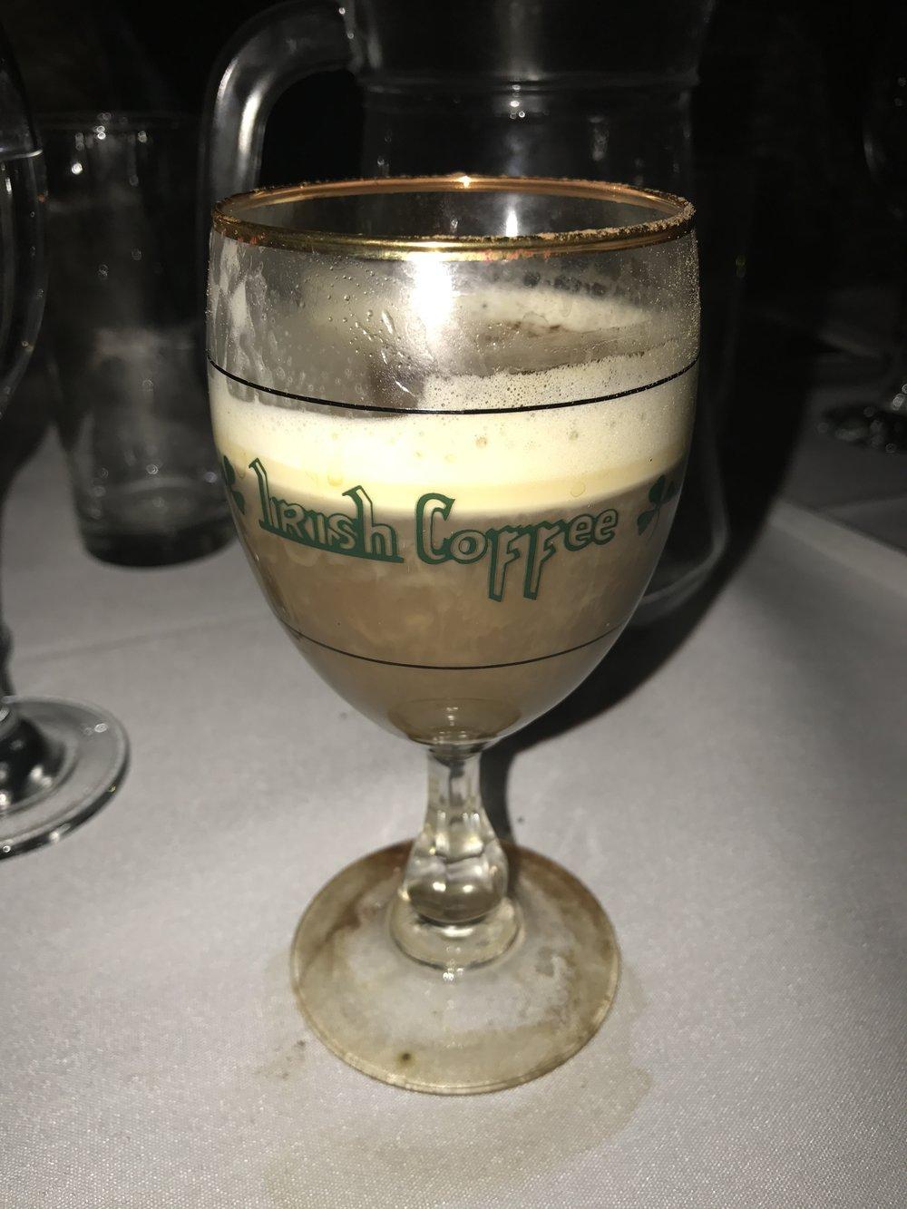 The Irish CoffeeI will mention below!