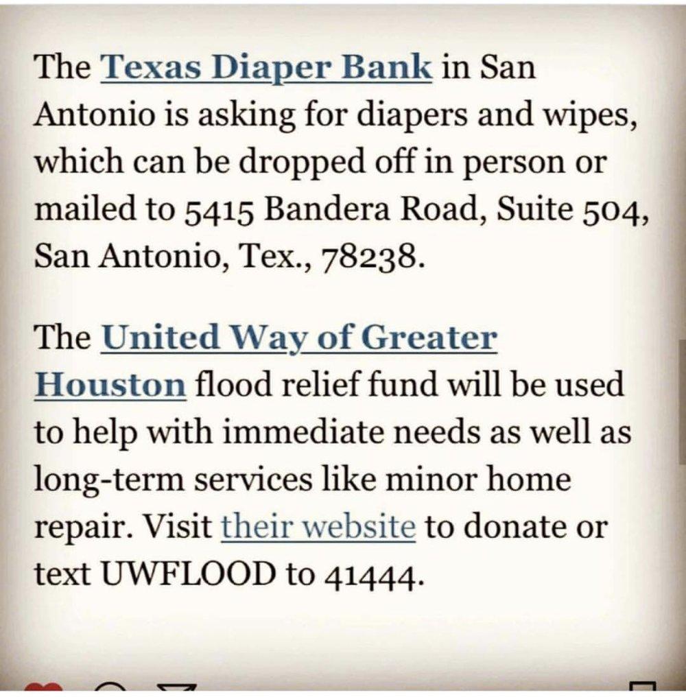 United Way Hurricane Harvey Relief Fund