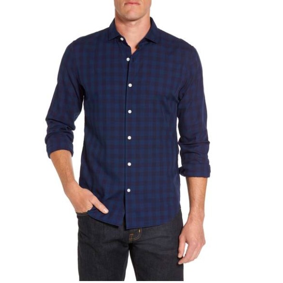 plaid style shirt for men