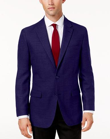 Dark Blue Blazer for Men