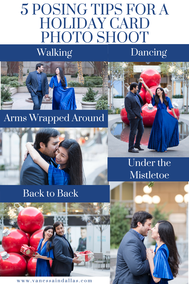 5 Posing Tips for a Holiday Card Photo Shoot