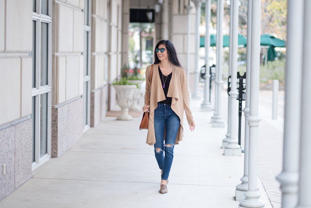 Long Tan Cardigan