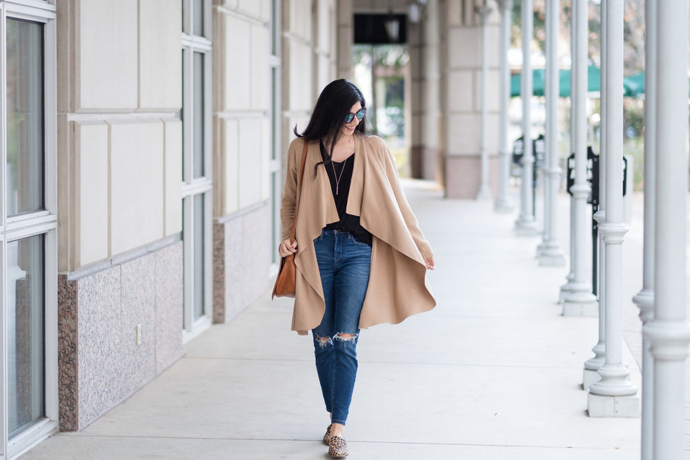 Chic and Trendy Draped Sweater