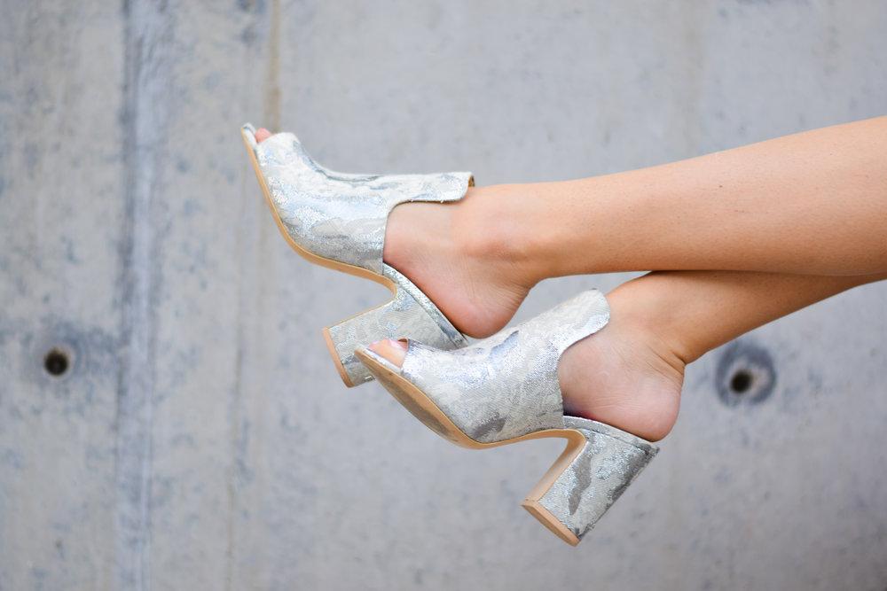 DKNY Floral Hester Sandals