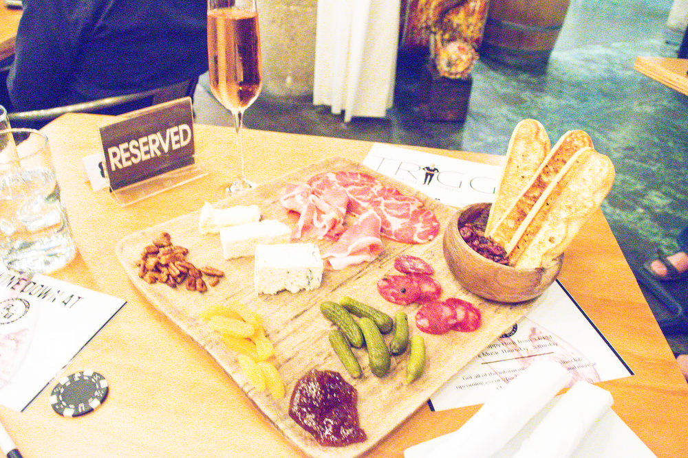 Checkard Past Winery Cheese Board