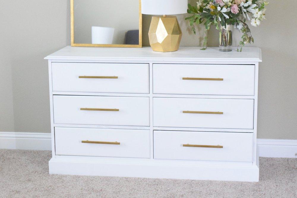 DIY Modern Dresser