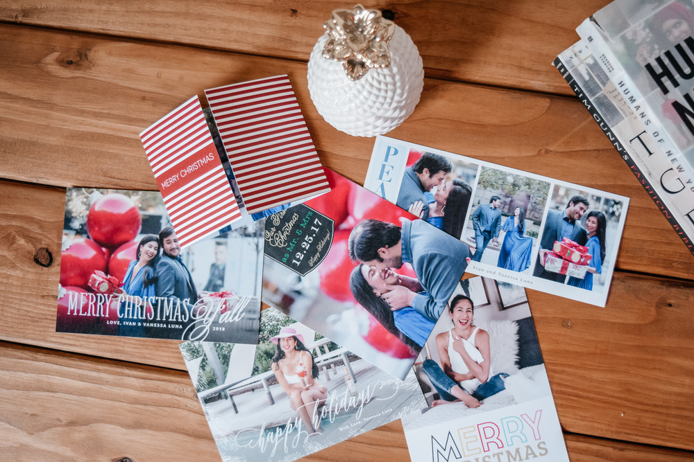 Basic Invite   Holiday Christmas Cards