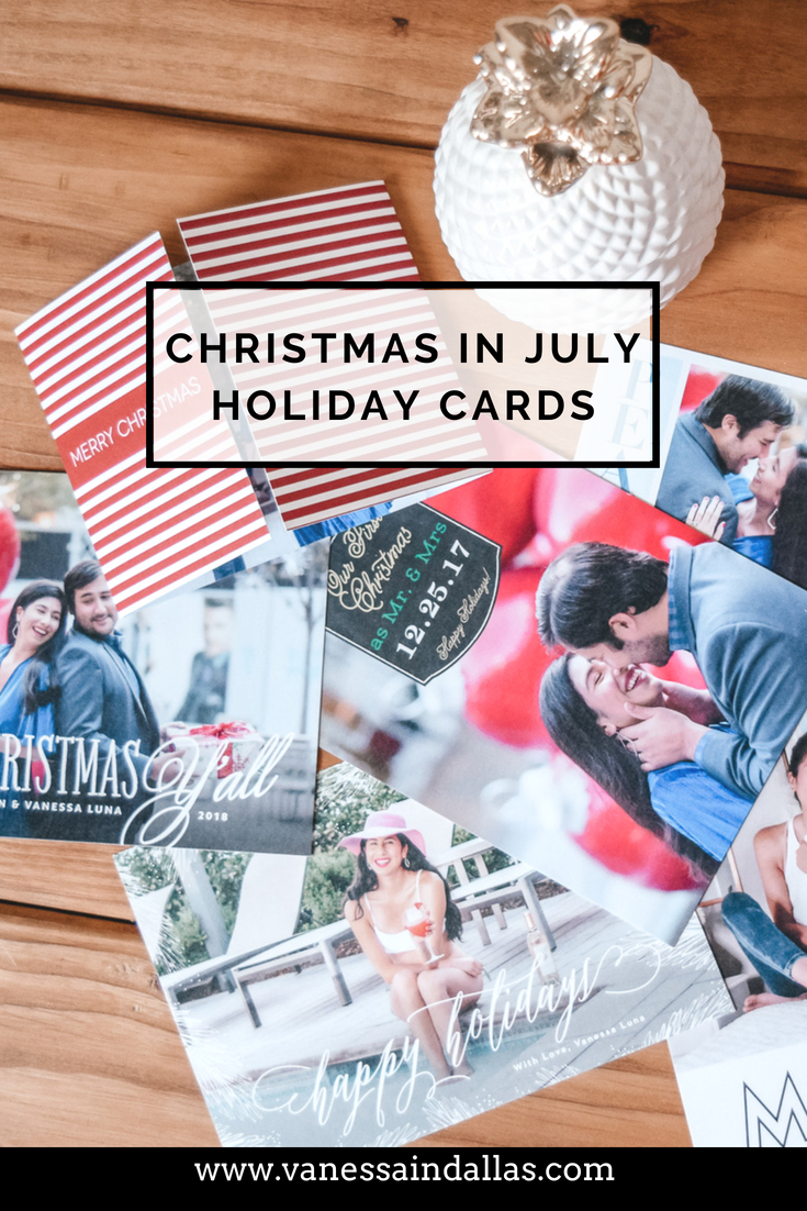 Christmas in July Holiday Cards