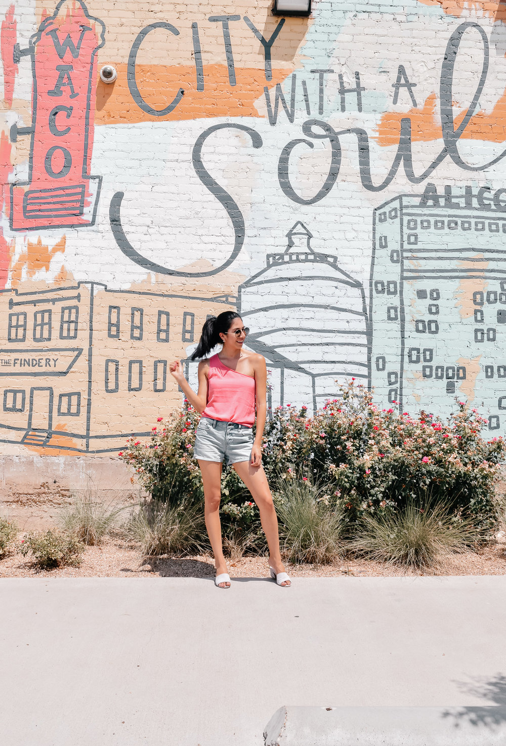 City with a Soul Mural in Waco