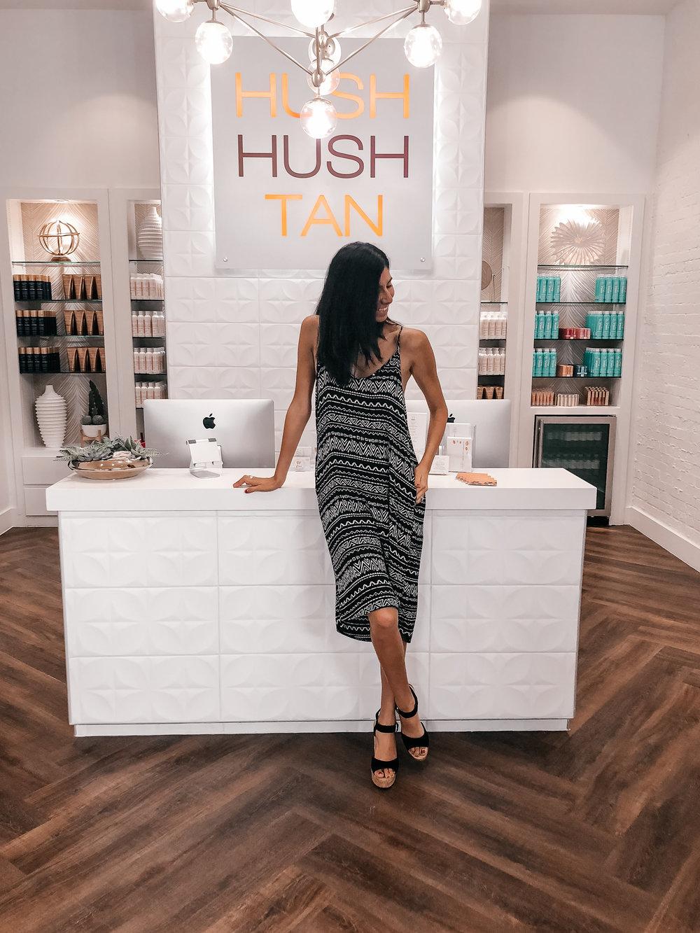 Hush Hush Tan Dallas Location