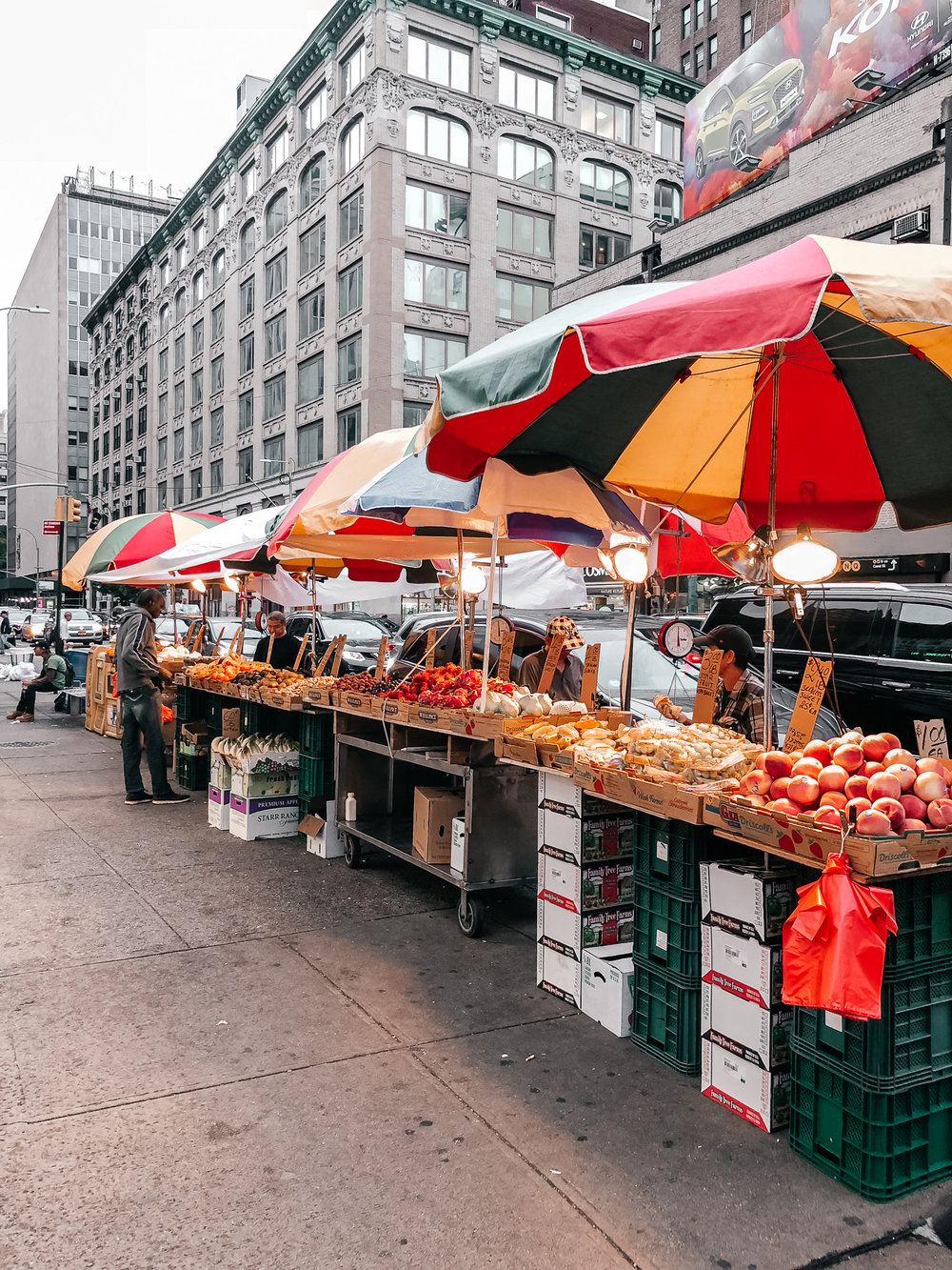 Part of the Chinatown Market