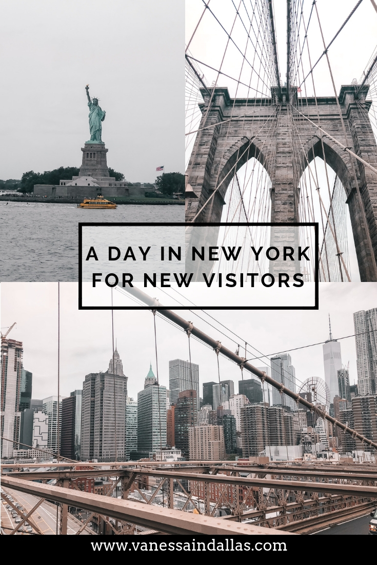 A Day in New York for New Visitors