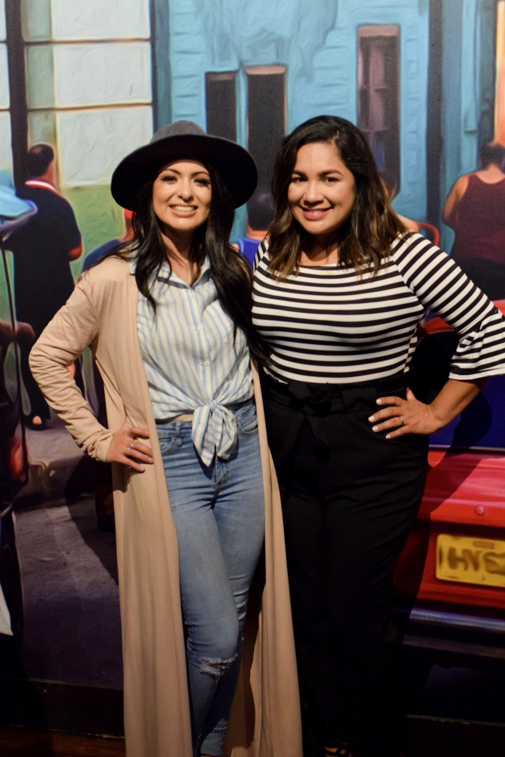 Vannessa Reyes and Georgette Rojas, DFW Latina Bloggers