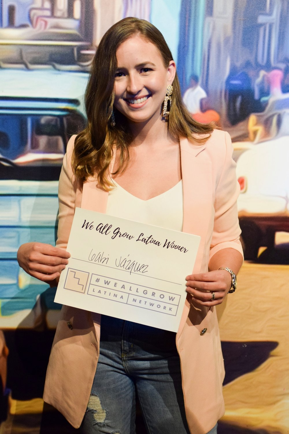 Congrats to Gabby  @never_outofstyle  for winning 1 year membership with We All Grow Latina!