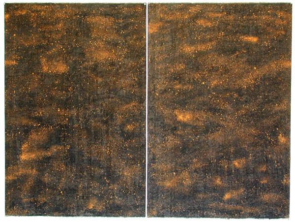 Stardust I (diptychon) 2005