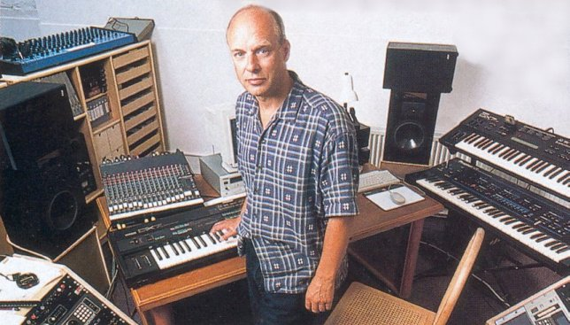 Brian Eno was such a fan of the DX7 and its dodgy frequency modulation synthesis that he claimed to have owned 7 of them at one time. A bit excessive much?