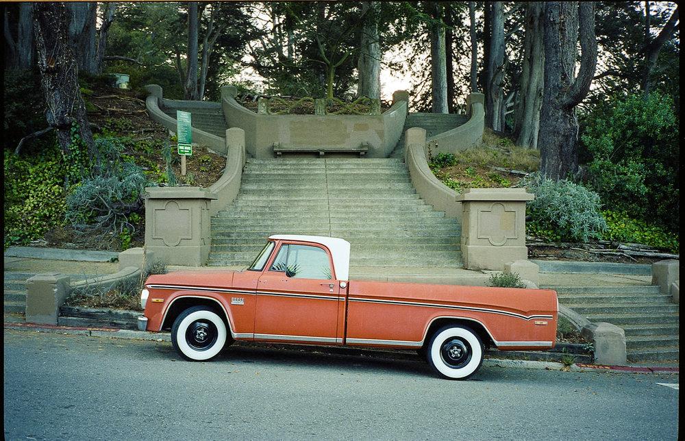 San Francisco, California. November 2014.Kodak Portra 400 with Contax T2.
