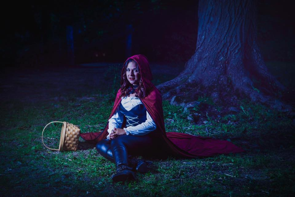 Misti as Little Red Riding Hood
