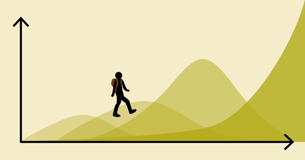 Climbing Scale Mountain