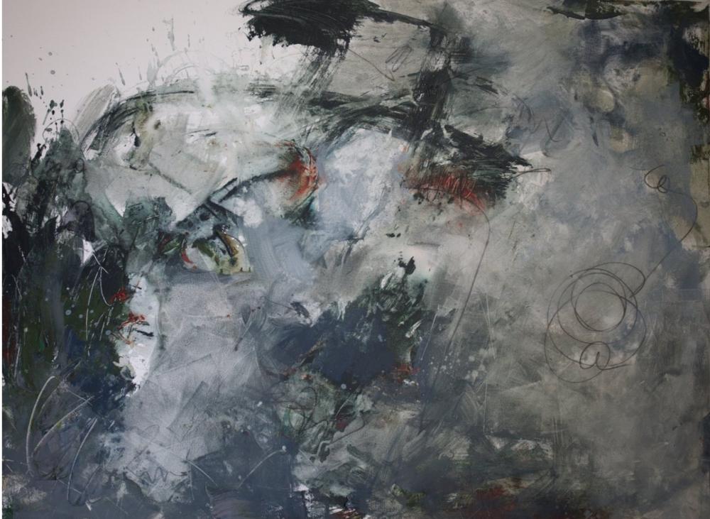 """Certainty, 36x48"""", acrylic on canvas"""