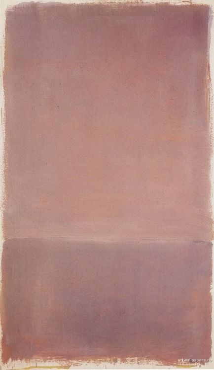 - When in doubt..Rothko always knows best.