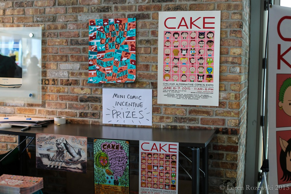 CAKE (Chicago Alternative Comics Expo), 2015