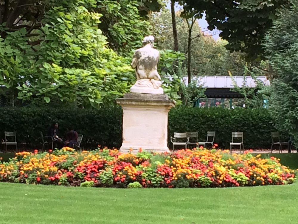 Luxembourg Gardens - large, beautiful, peaceful