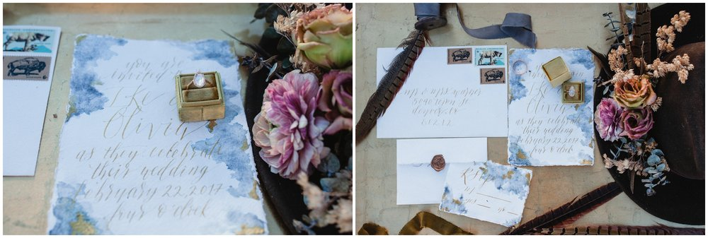 sarah o jewelry, watercolor invites