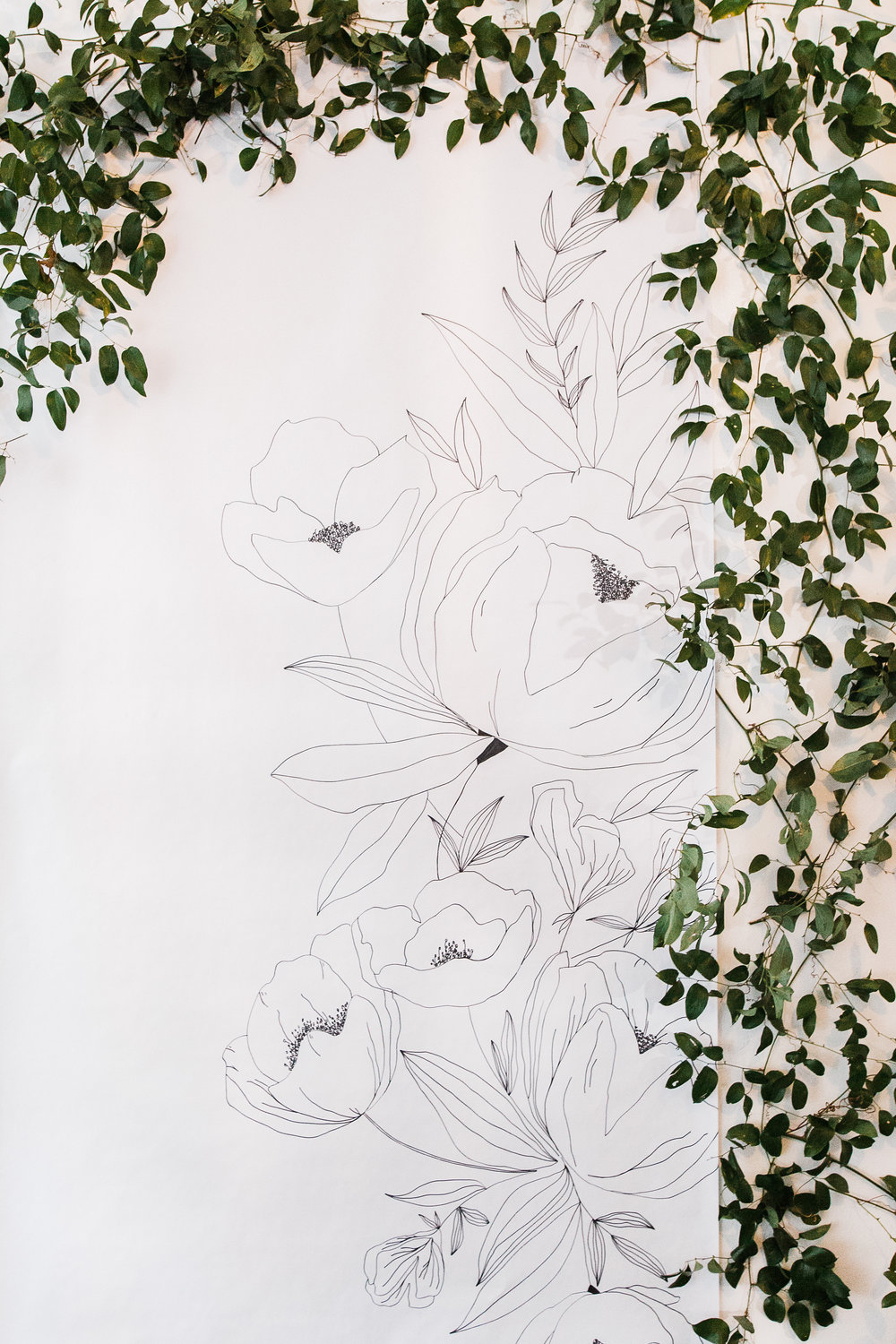 Hanging Vines and Greenery on Any Surface from Team Flower