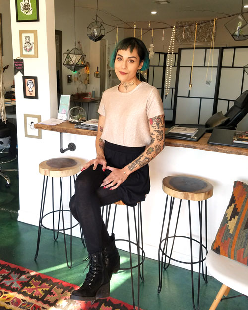 Melissa Martell Tattoo Artist