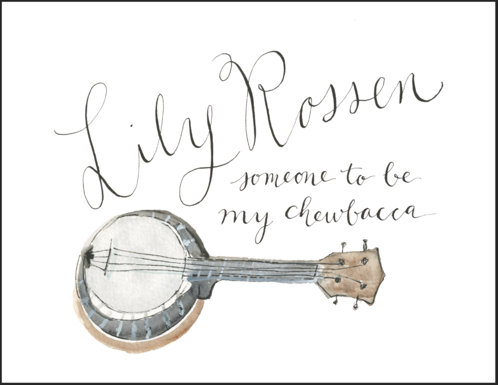 Lily Rossen CD cover