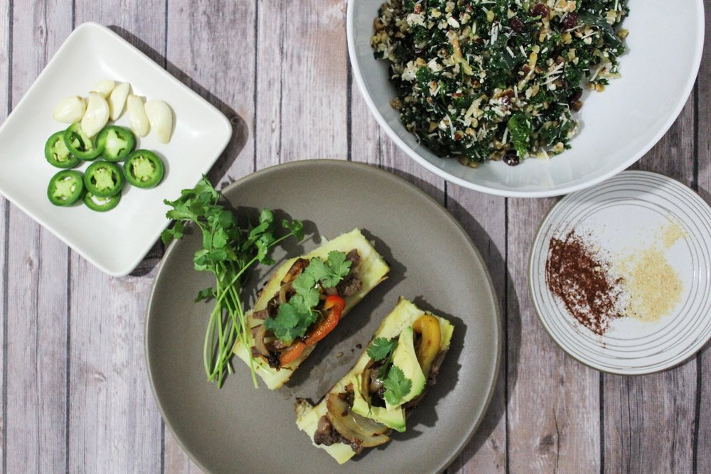 Feed The Dietitian Healthy Steak Fajitas | Gluten Free | Paleo Healthy Dinner