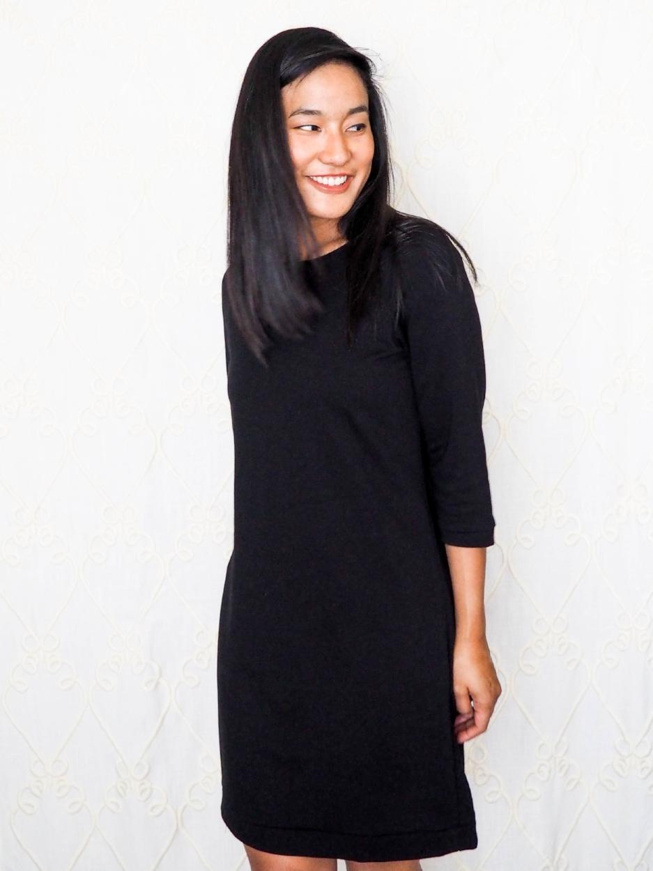 T-shirt dress, front