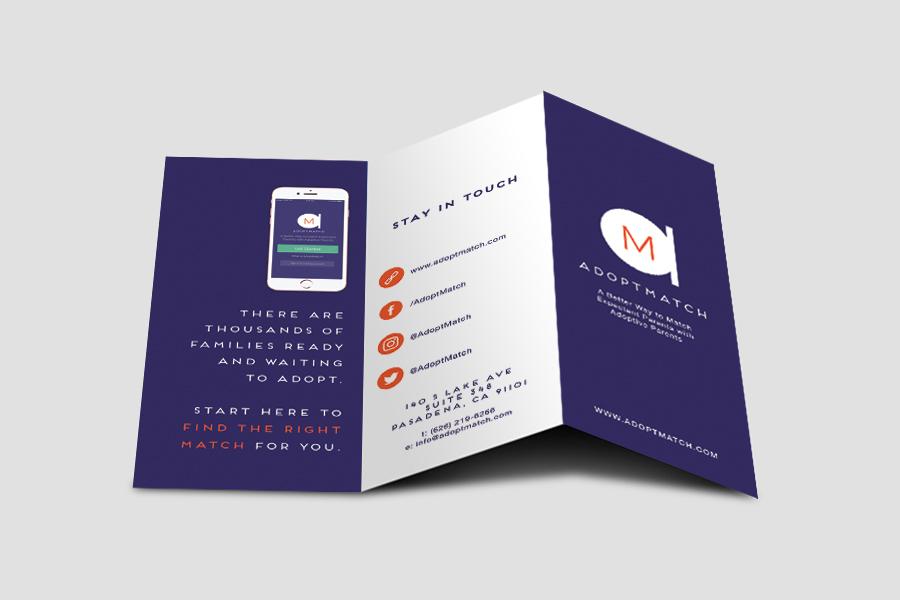 AdoptMatch Brochure Design