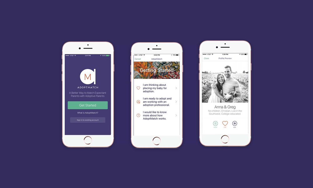 AdoptMatch - A Modern Alternative to Adoption Profile Books
