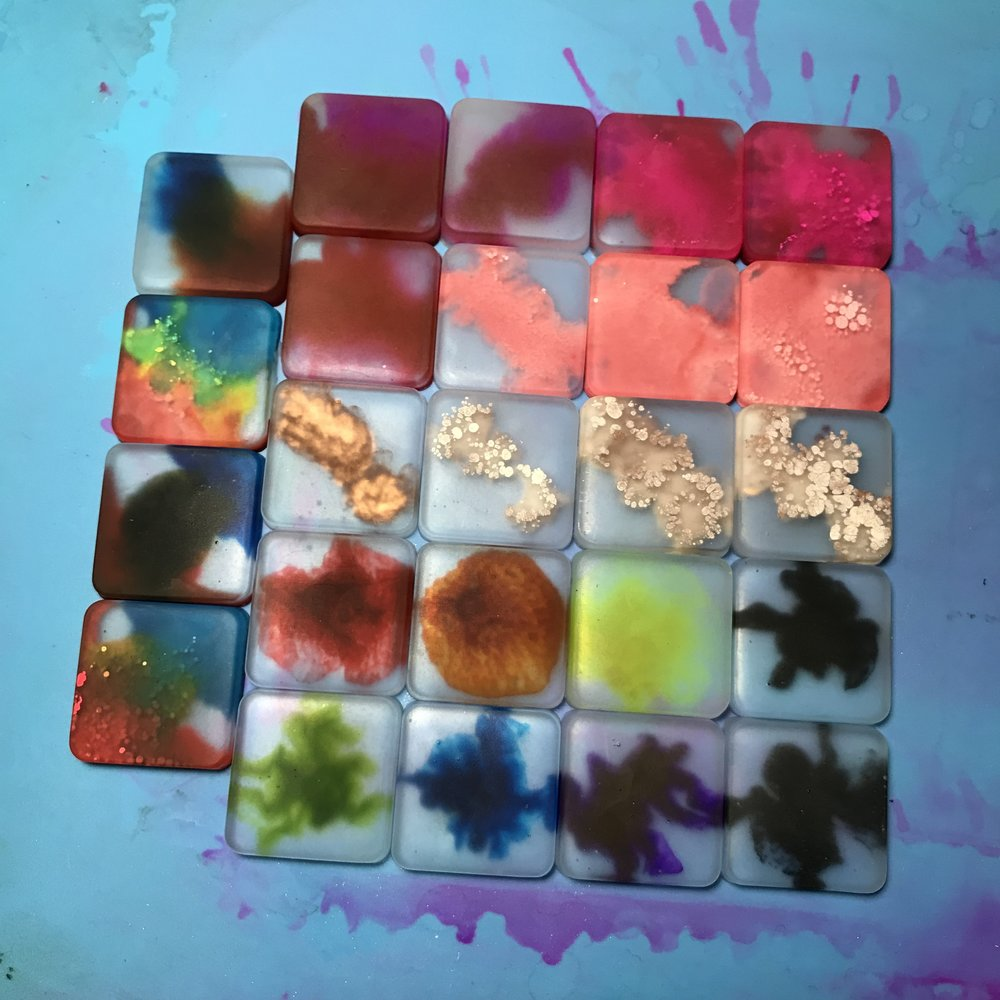 resin test #3 results